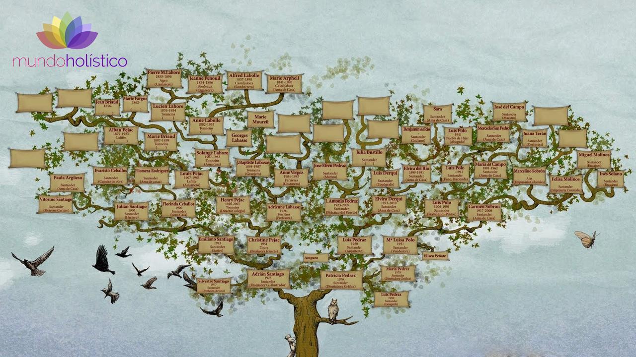 Biodescodificación del árbol genealógico