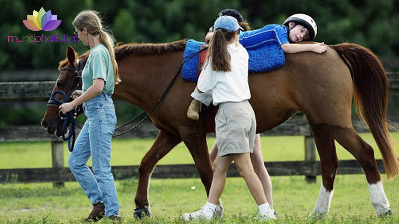 Equinoterapia. Terapia con caballos