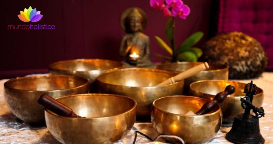Terapia vibracional: Cuencos tibetanos
