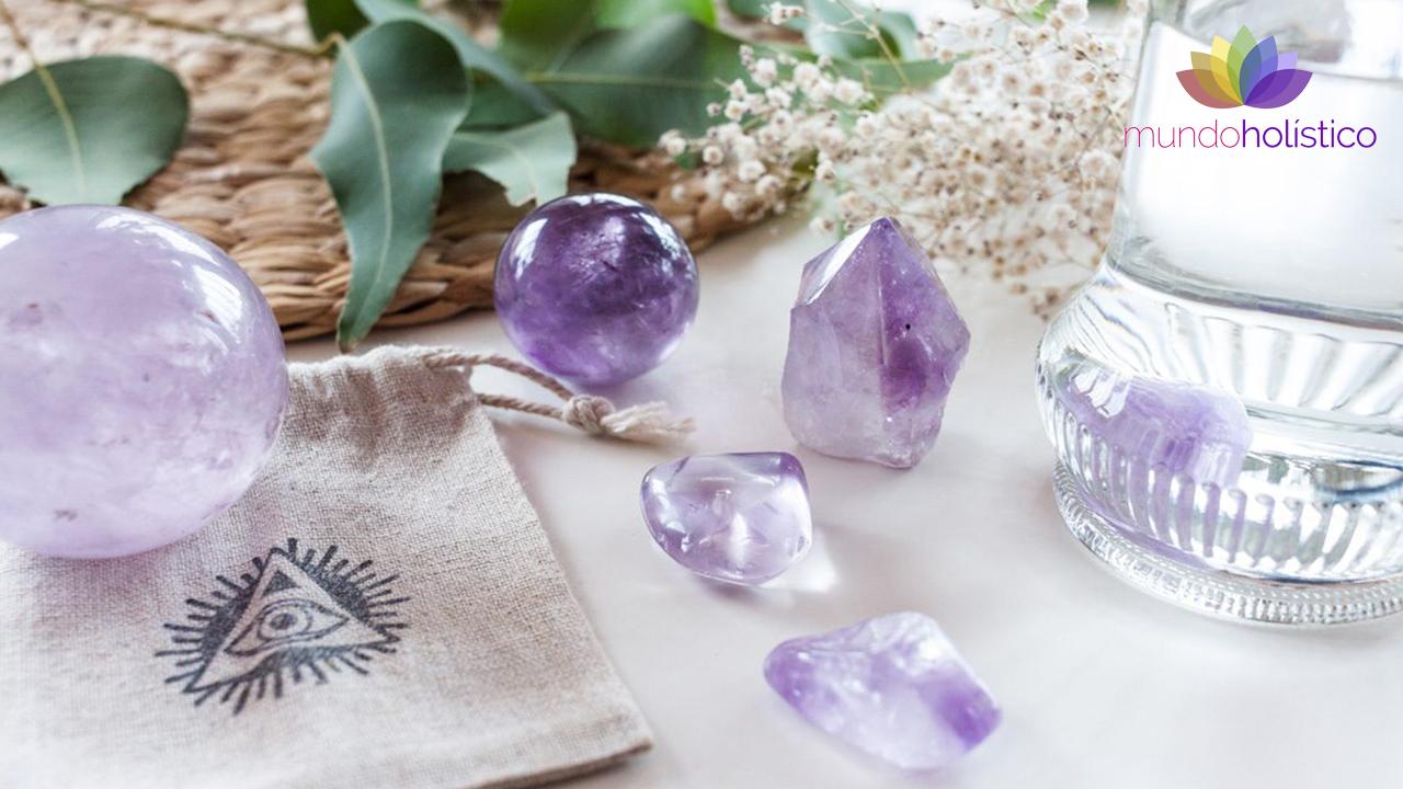 Cristaloterapia para el alivio del estrés