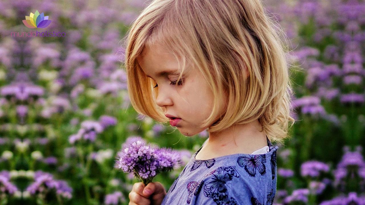 Terapia de Flores de Bach para niños